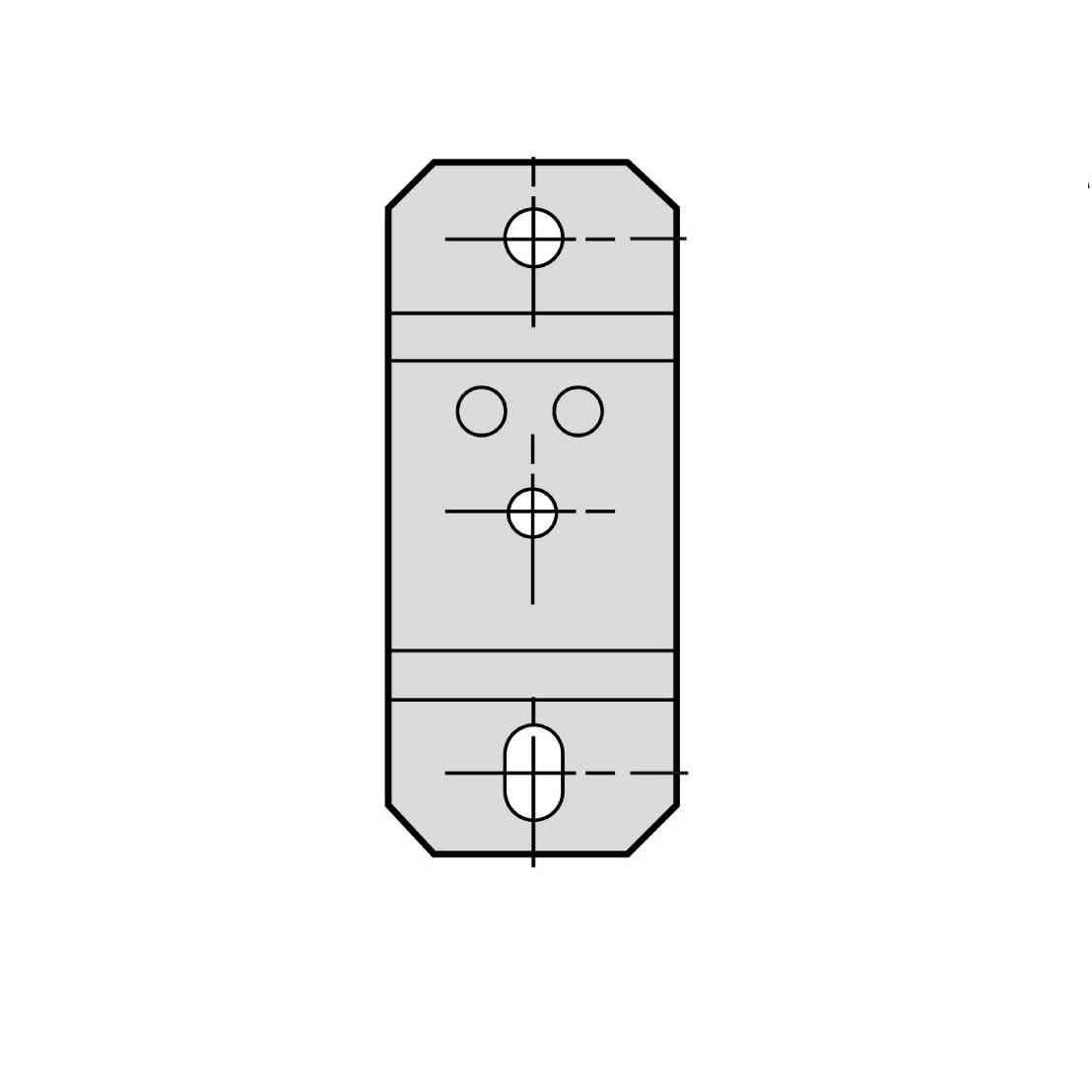 Canalis - pritrdilni distančnik