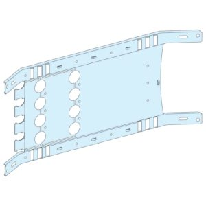 Montažna plošča vigi NSX/CVS preklop - 4P 630 A vodoravna, širine 650