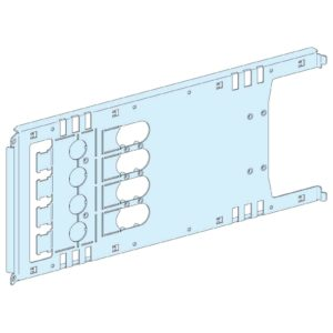 Montažna plošča vigi NSX/CVS vtični preklop/vrt./mot - 4P 630A vod., širine 650