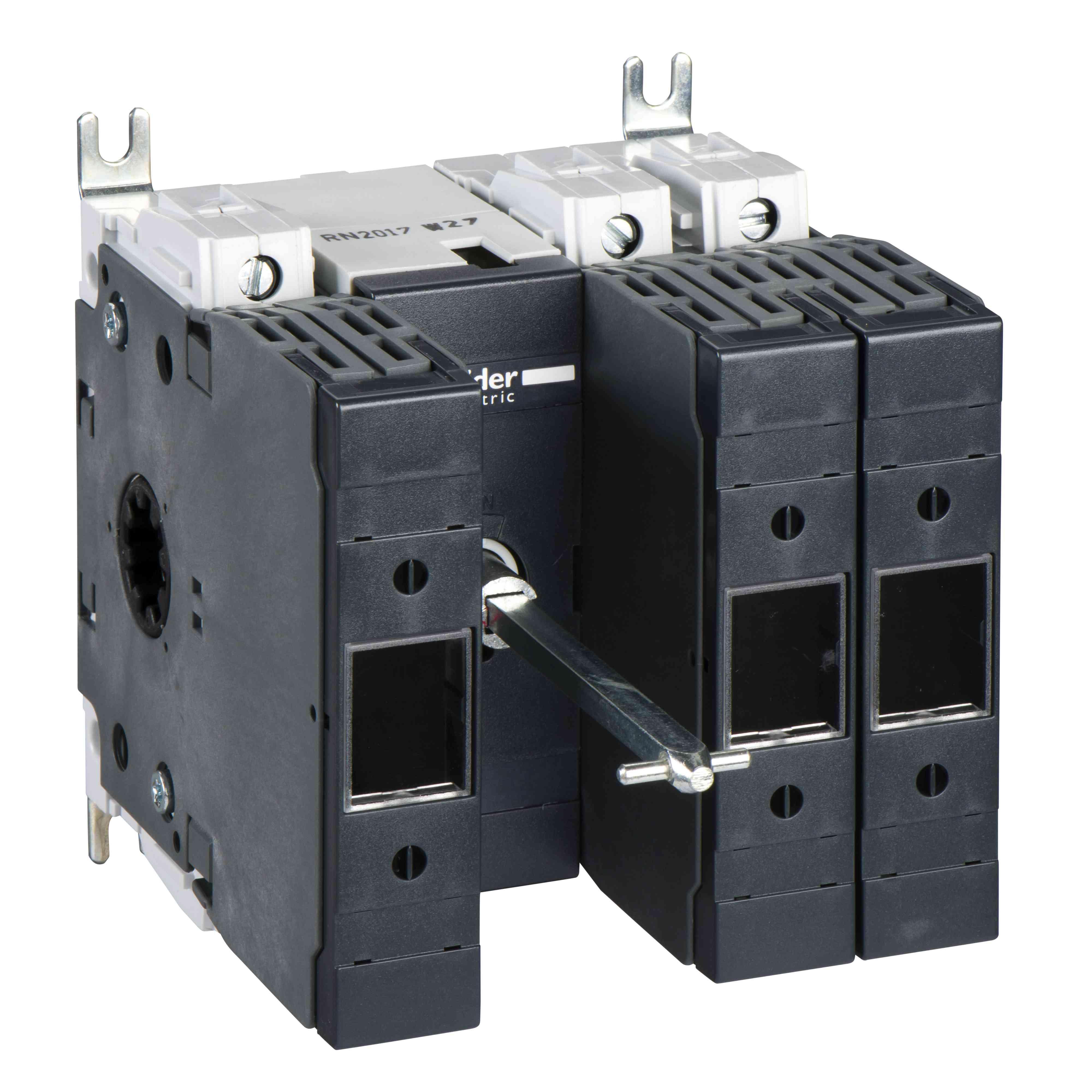 Ohišje varovalke ločilnega stikala INFD 3 poli 3F - DIN - 40 A - prednji ročaj