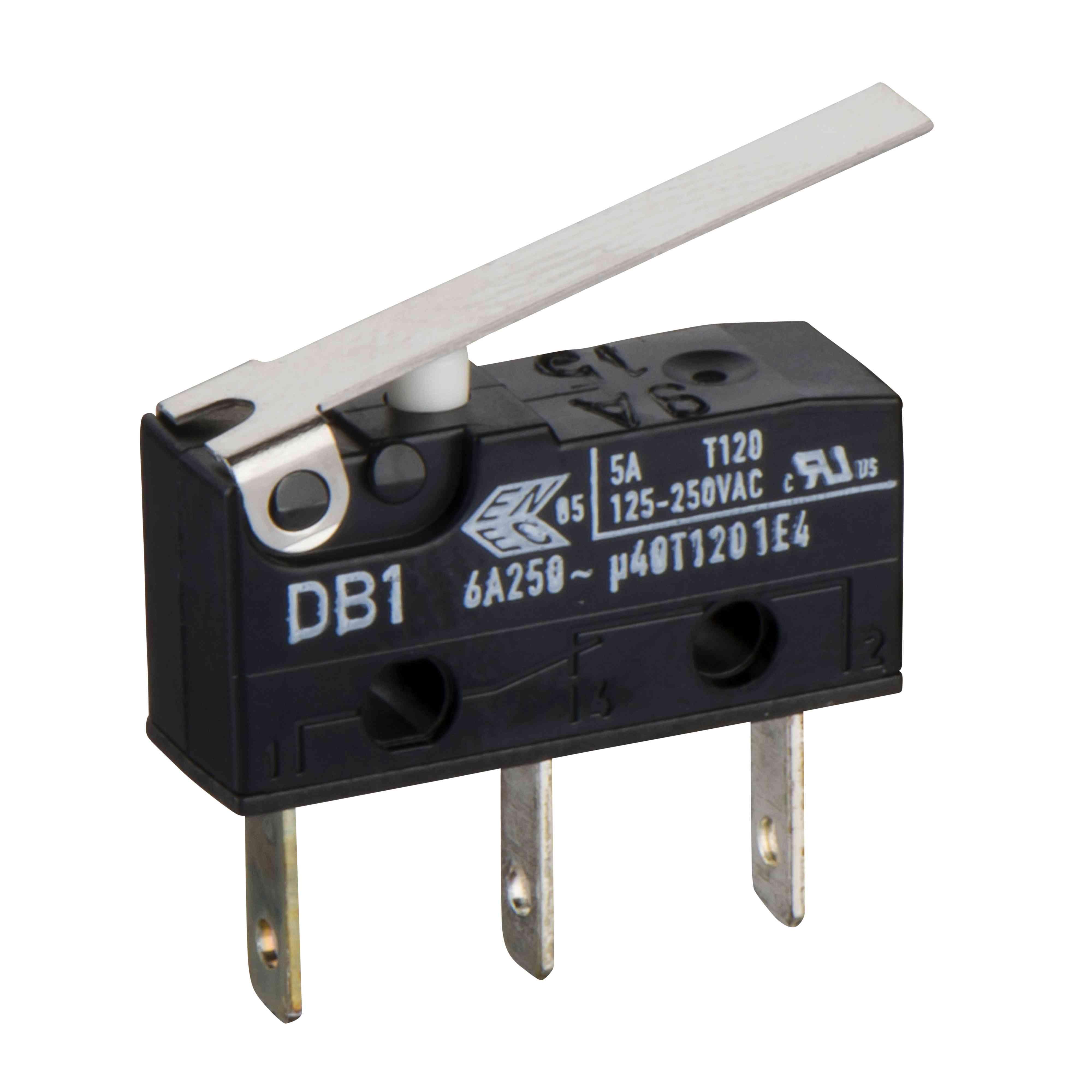 Pomožni kontakt za preklop 1 NO + 1NC standardni - za Fupact ISFT 100N