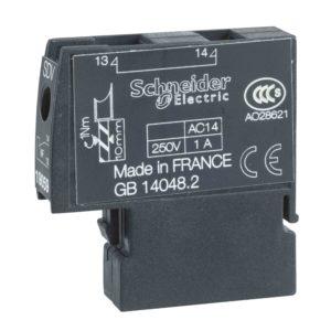 Pomožni kontakt - 1 SDV 1NC - za NG125 - 250 V - 2 A
