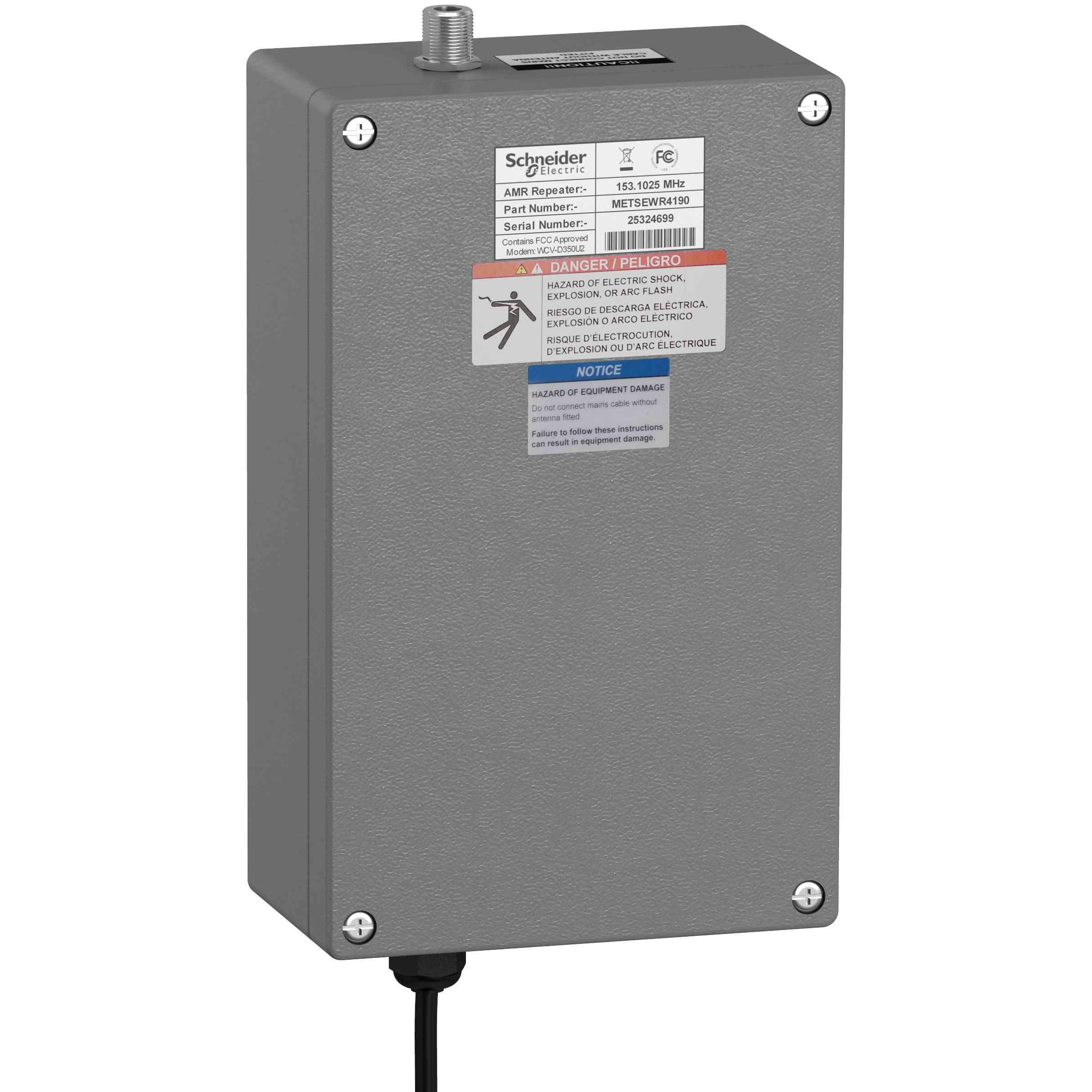 PowerLogic WT4200 - brezžični repetitor - 169 MHz