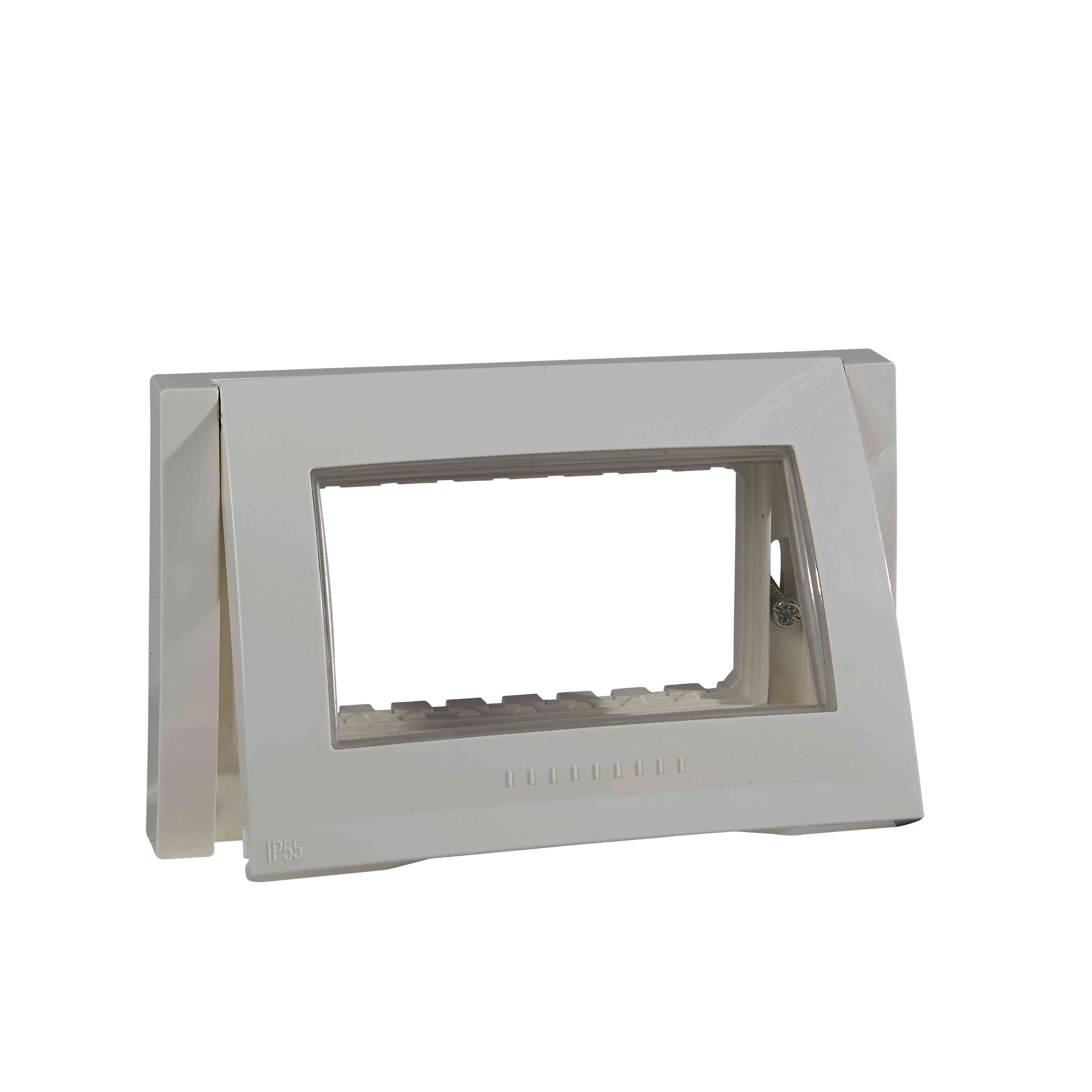 Unica Plus - dekorativni okvir (nos. okvir) - 1 odprtina - 4 m - bež/bež - IP55