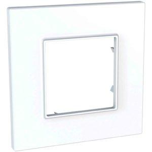 Unica Quadro - dekorativni okvir - 1 odprtina - bel
