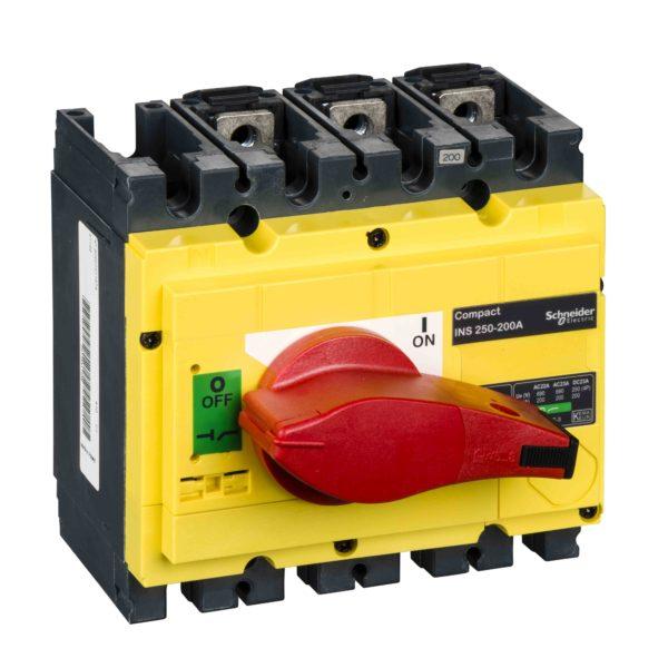 Ločilno stikalo Compact INS250 - 200 A - 3 poli