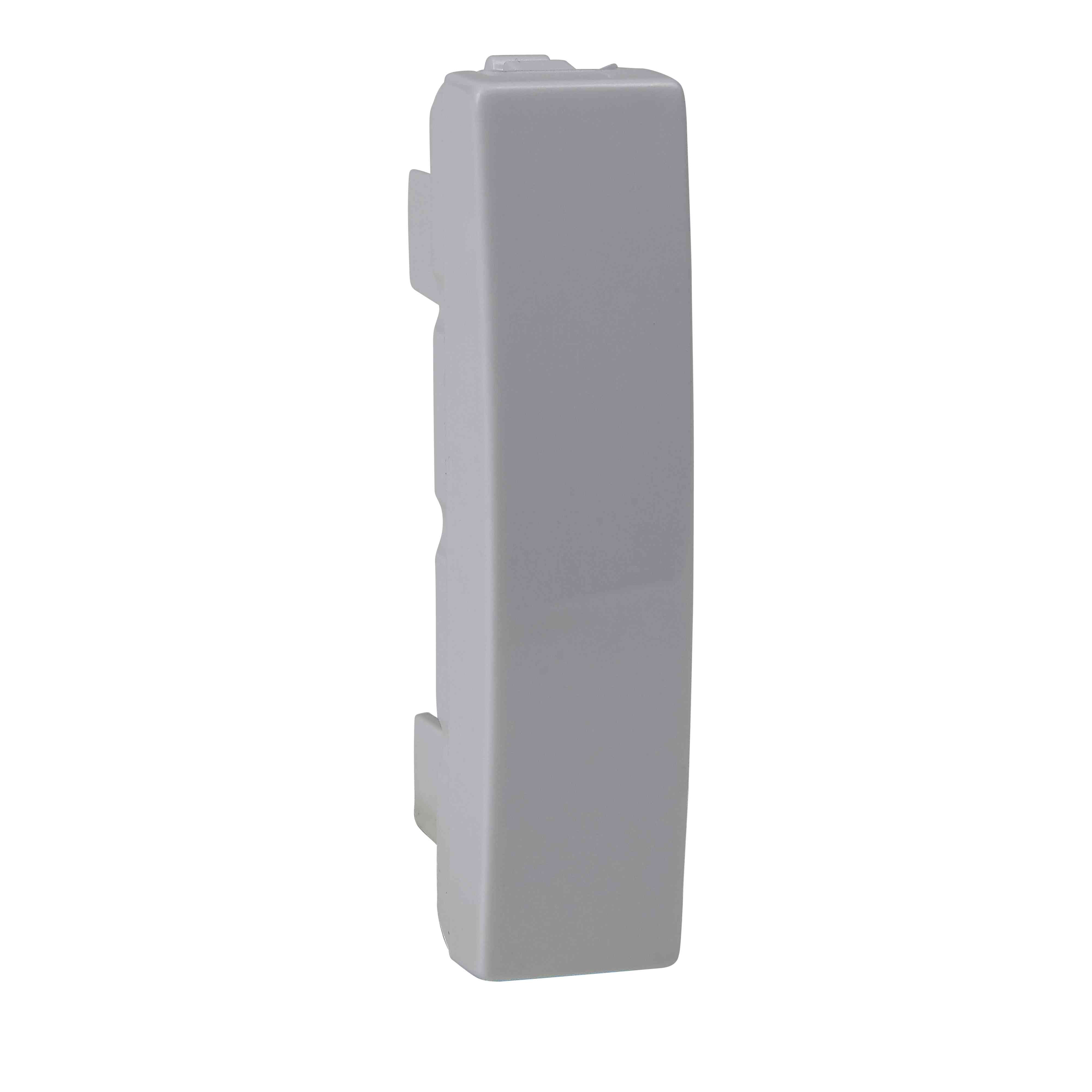 Unica - slepi pokrov/element - 0,5 m - bel