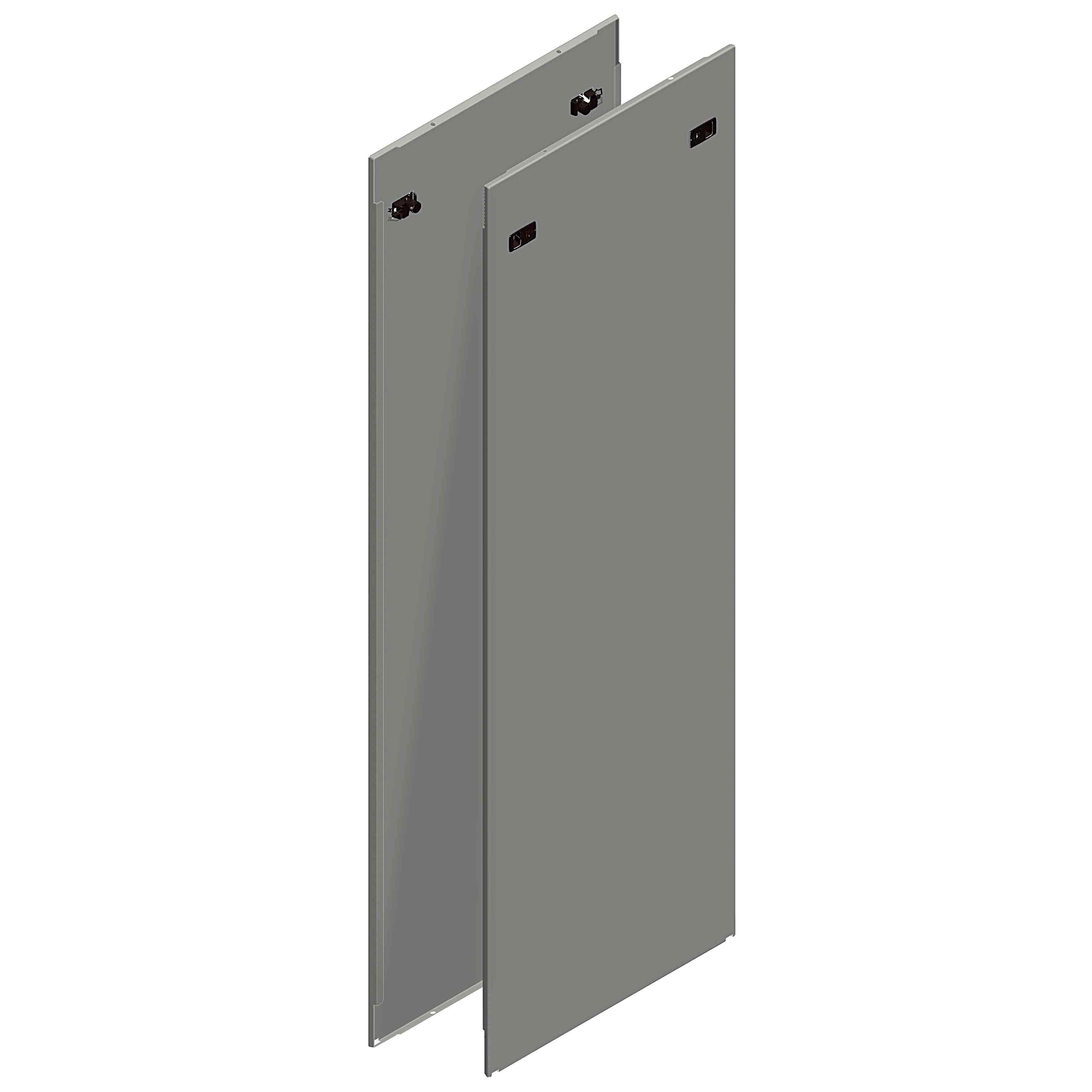 Stranske plošče Spacial SF za hitro pritrditev - 2000 x 600 mm