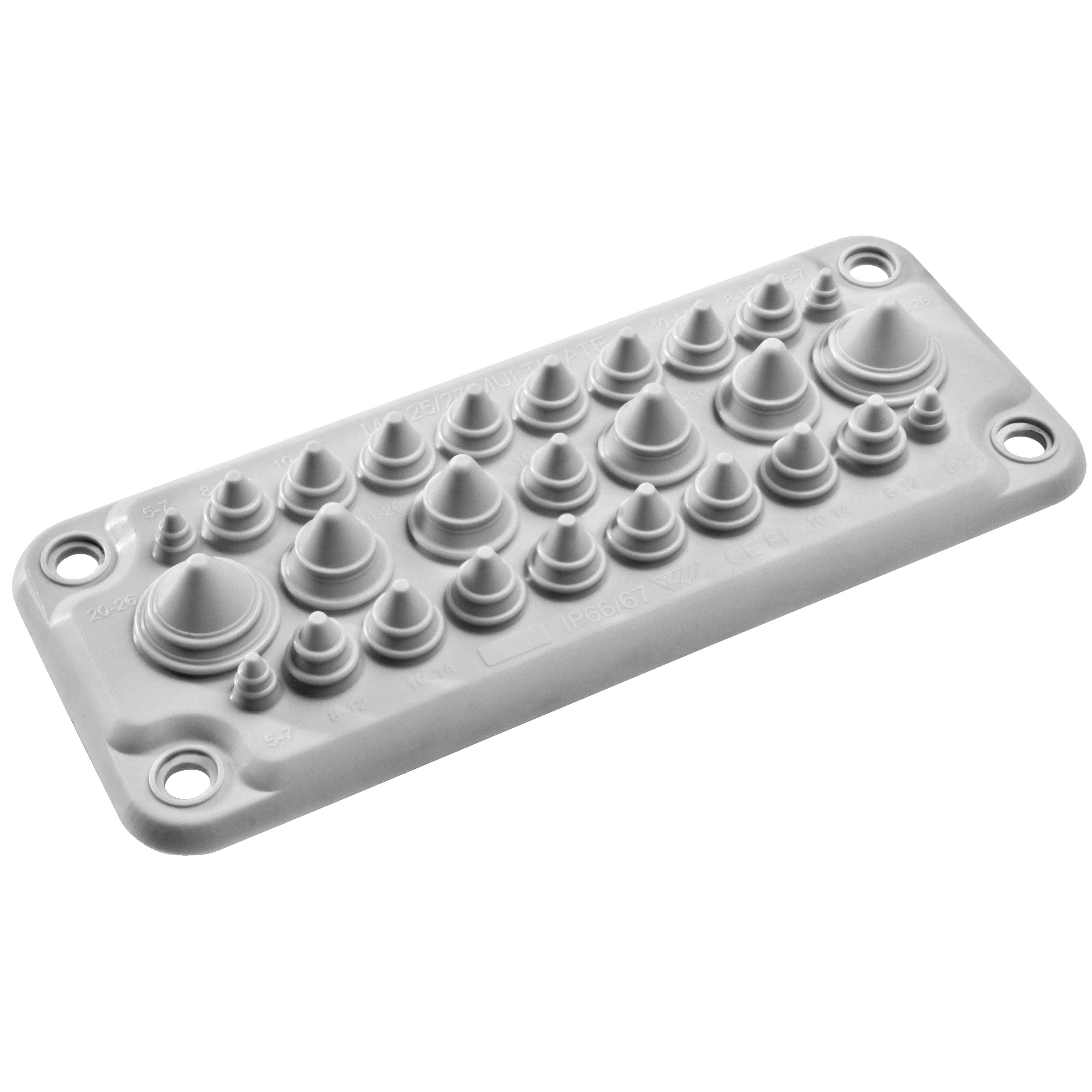Spacial - membrana za kabelski vhod tipa FL21 s 27 vhodi IP66