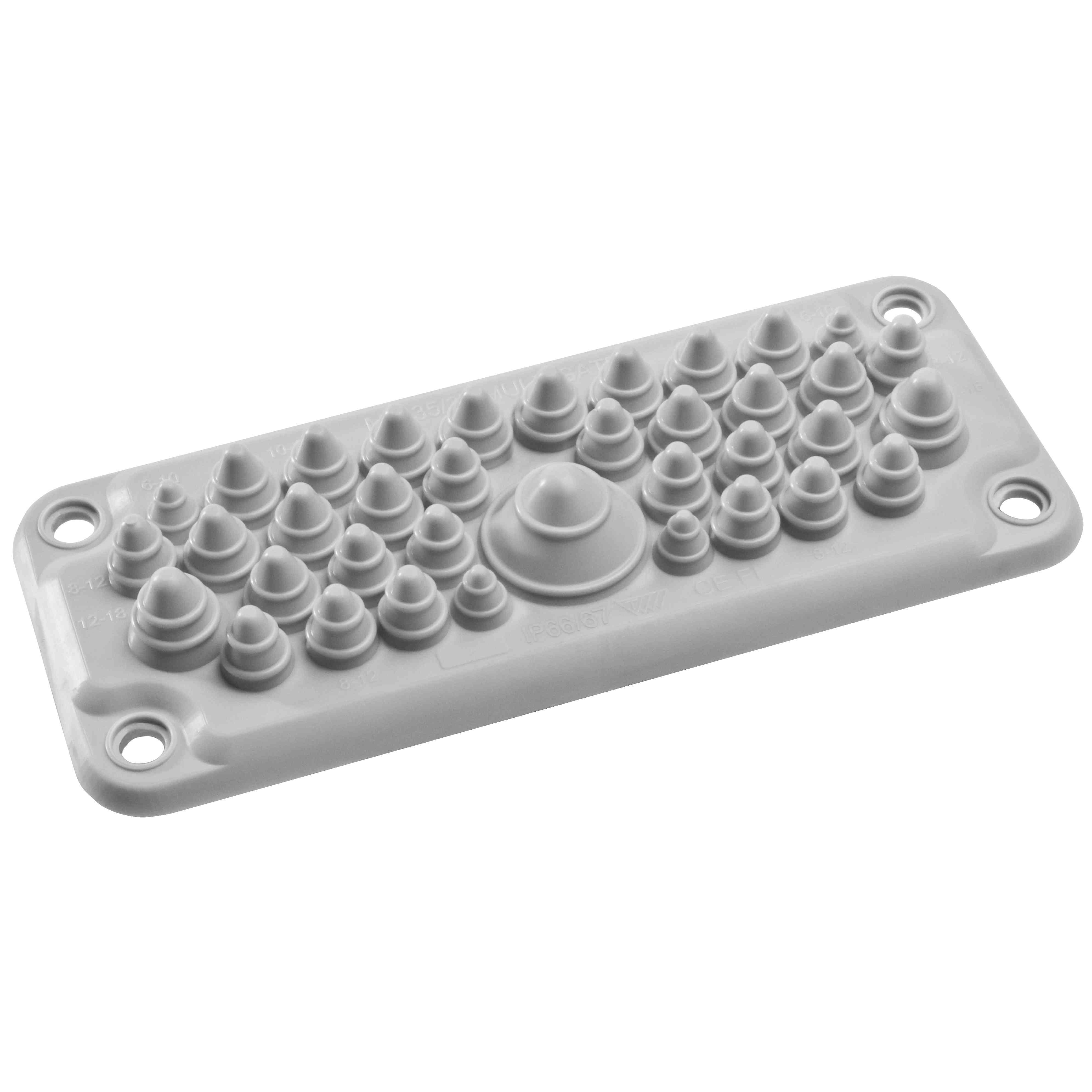 Spacial - membrana za kabelski vhod tipa FL21 s 37 vhodi IP66