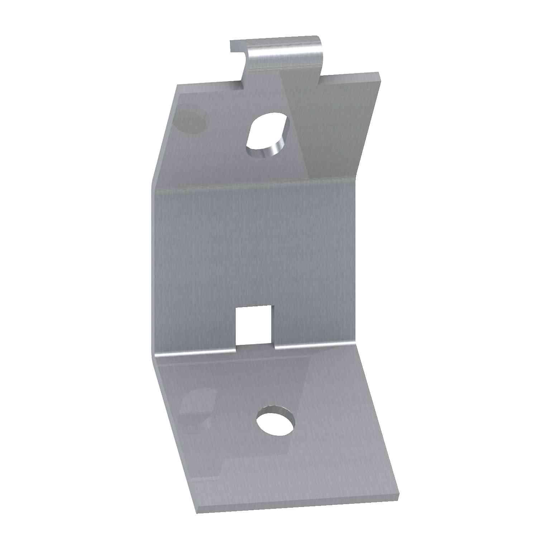 Podpornik kabelskega voda iz galvaniziranega jekla. Pakiranje: 10 kosov