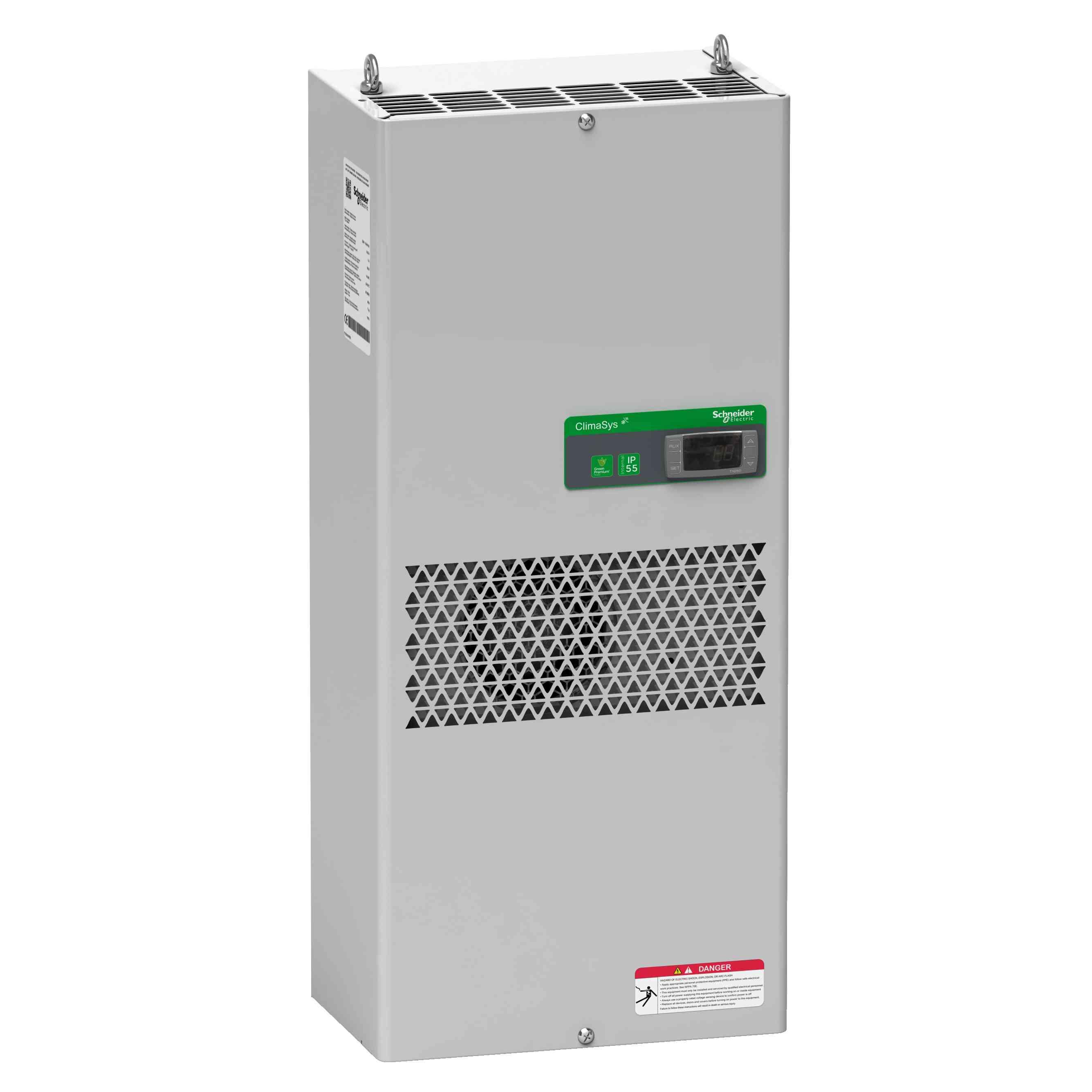 Standardna hladilna enota ClimaSys ob strani omare - 1000 W pri 400 do 440 V