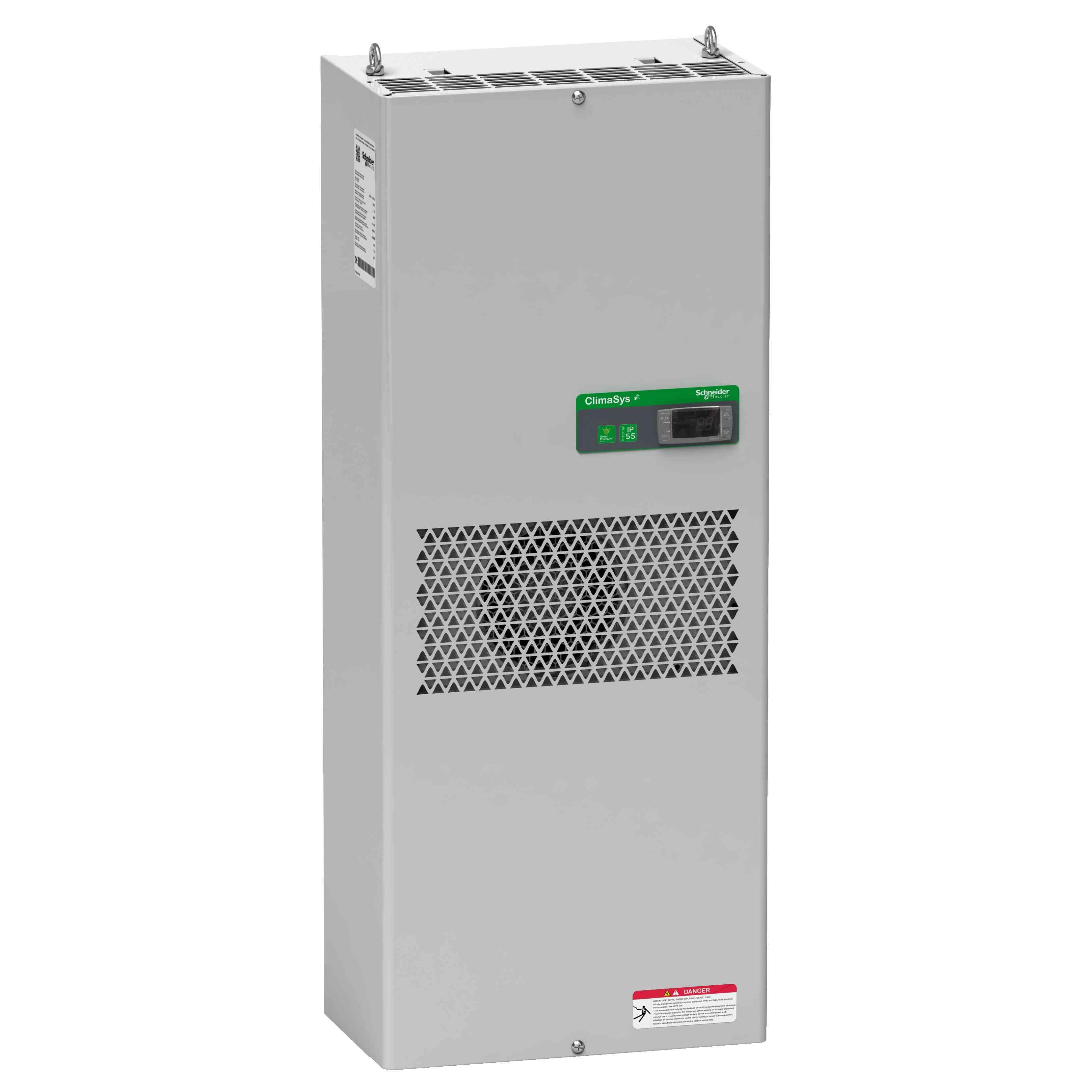 Standardna hladilna enota ClimaSys ob strani omare - 2000 W pri 230 V