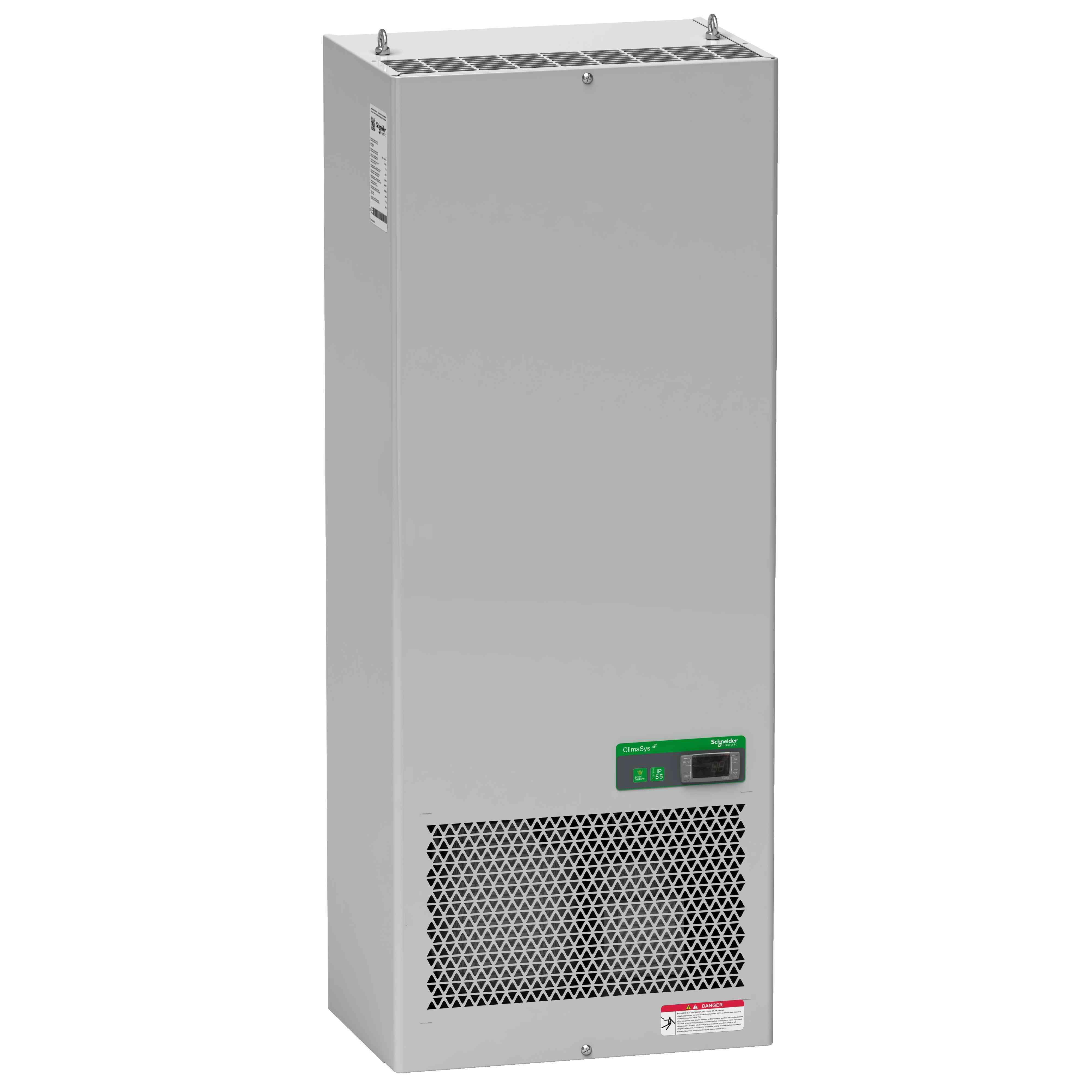 Standardna hladilna enota ClimaSys ob strani omare - 3850 W pri 400 V