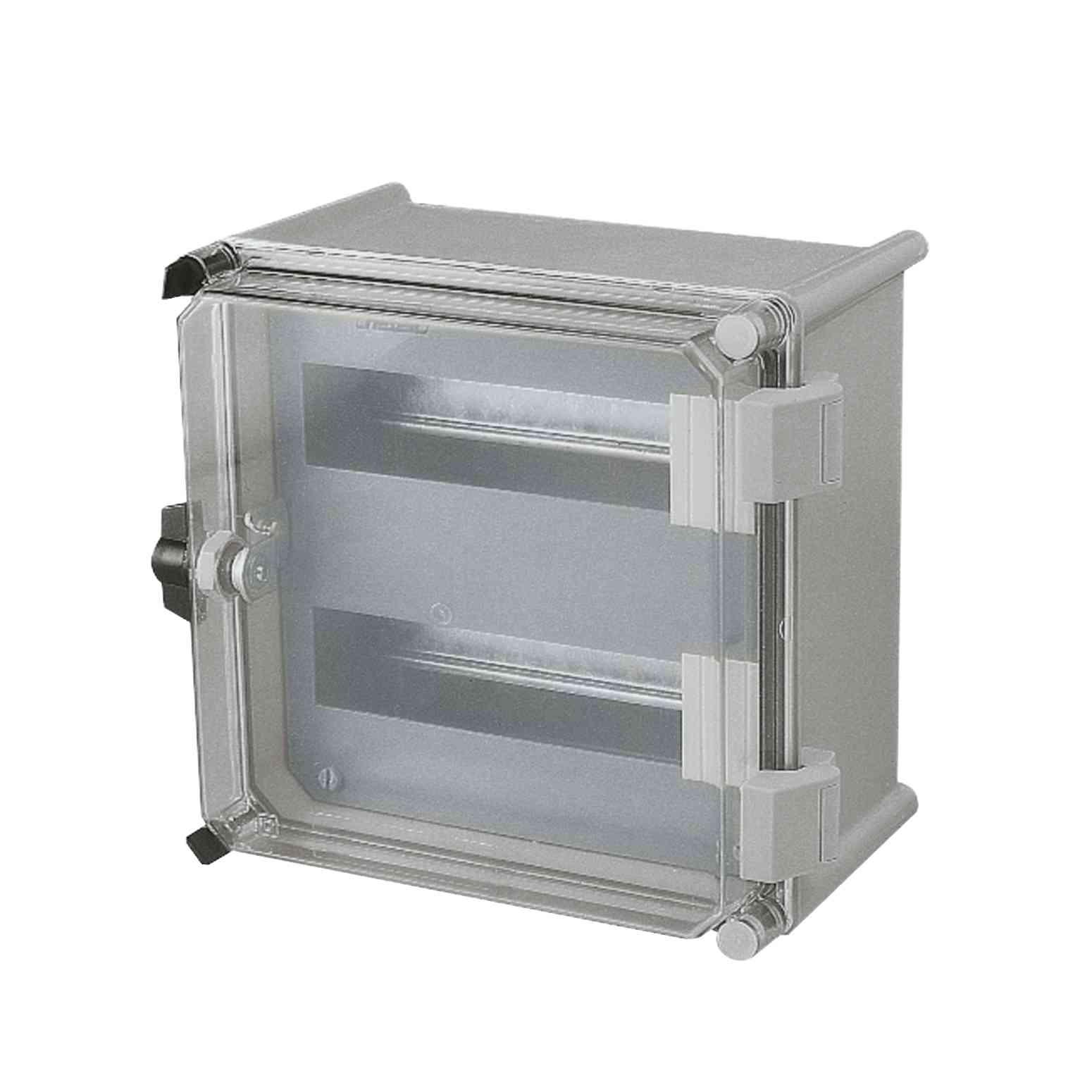 Modularna šasija za distribucijo s 36 moduli (18 mm) za omaro PLS 36 x 27 cm