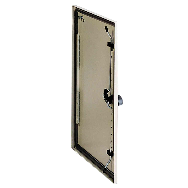 Navadna vrata za Spacial S3D V 400 x Š 300 RAL 7035, z zaklepom