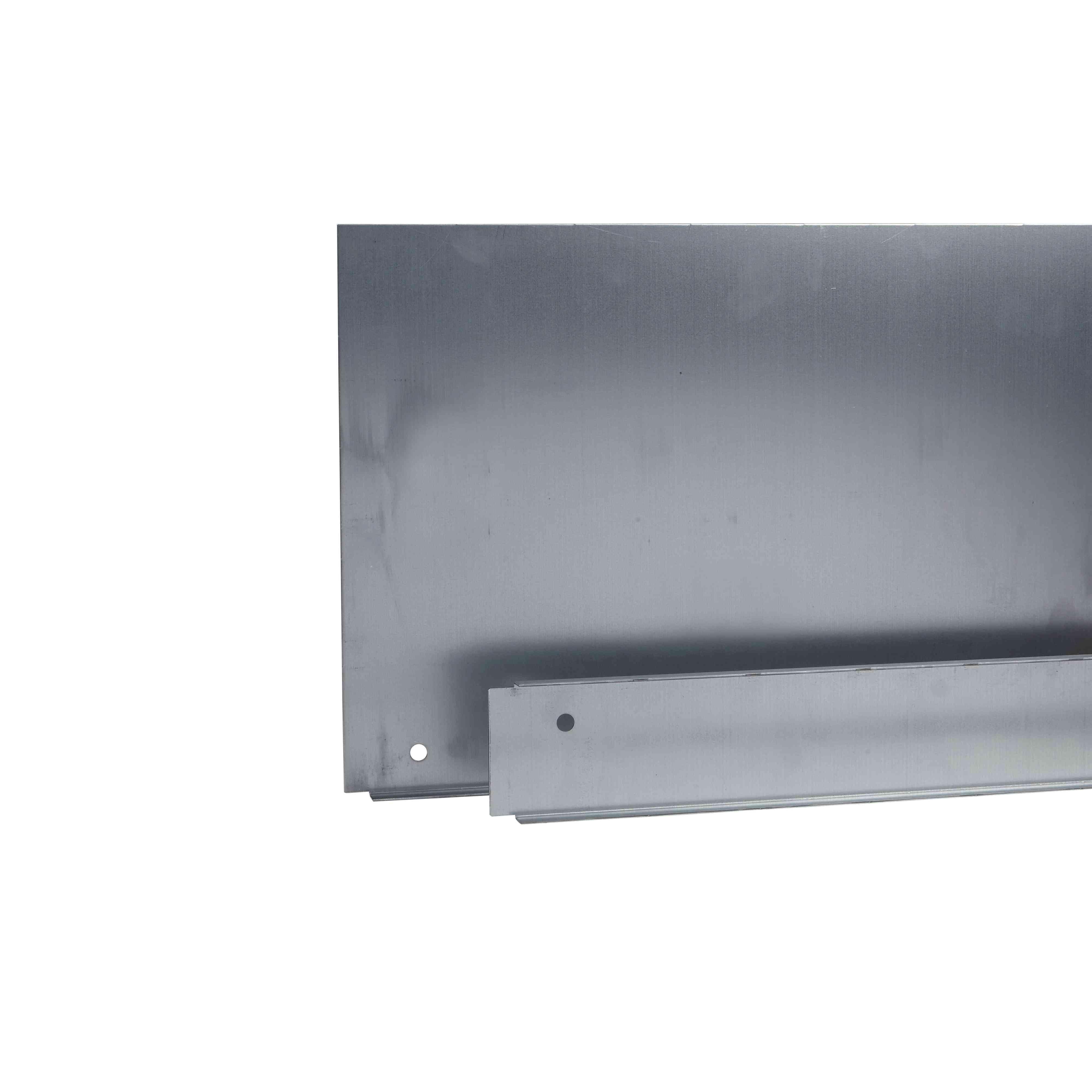 Spacial SF plošča kab. uvodnice z 1 vh. - pritr. s sponkami - 1600 x 500 mm