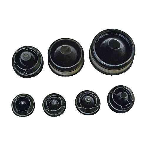 PVC prilagodljivi vhodi stožčaste oblike 52 x 1,2. 13 do 44 mm. Sestava: 25