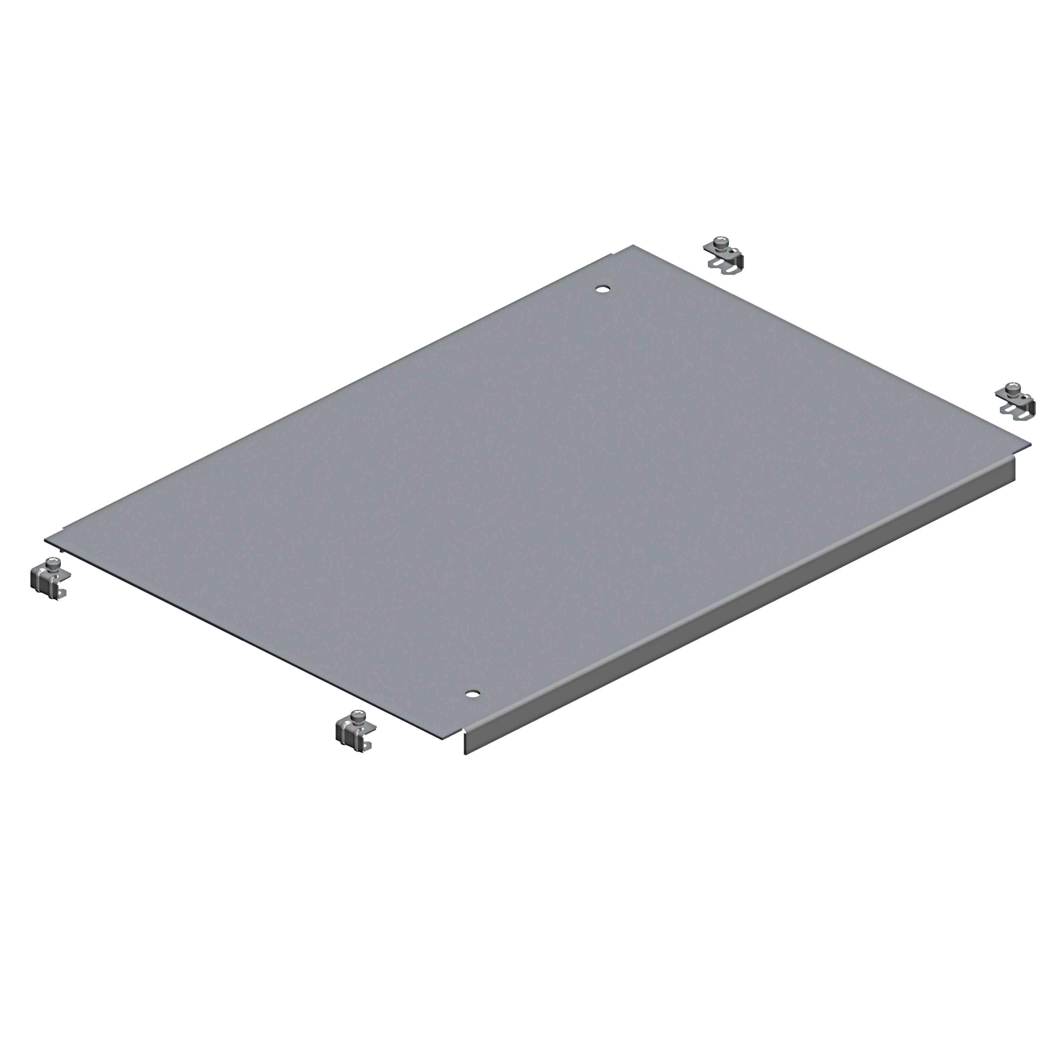 Spacial SM navadna plošča s kab. uvodnicami - pritr. s sponkami - 800 x 400 mm