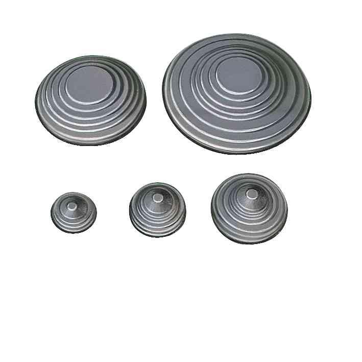 PVC prilagodljivi vhodi stožčaste oblike 70 x 3 mm. Sestava: 10