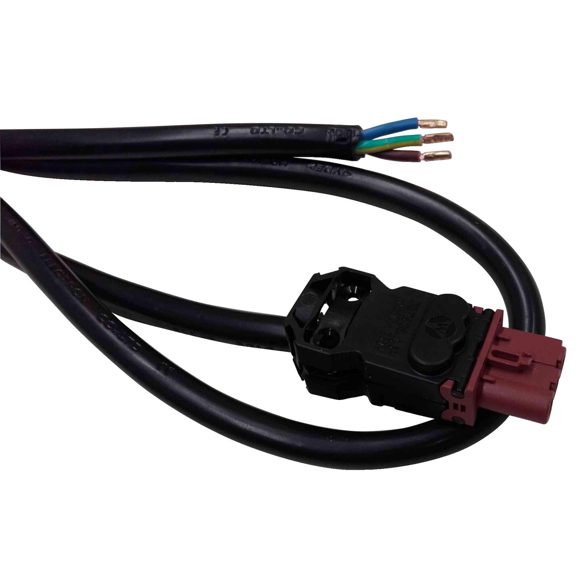 Energijski kabel dolžine 3m dolg za Vdc IEC LED svetilke večnamenskega tipa