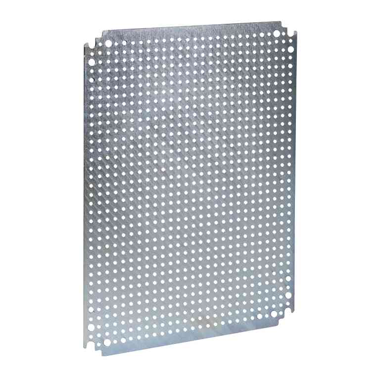 Mikroperf. montažna plošča V 800 x Š 800 z odp. prem. 3,6 mm z razmikom 12,5 mm
