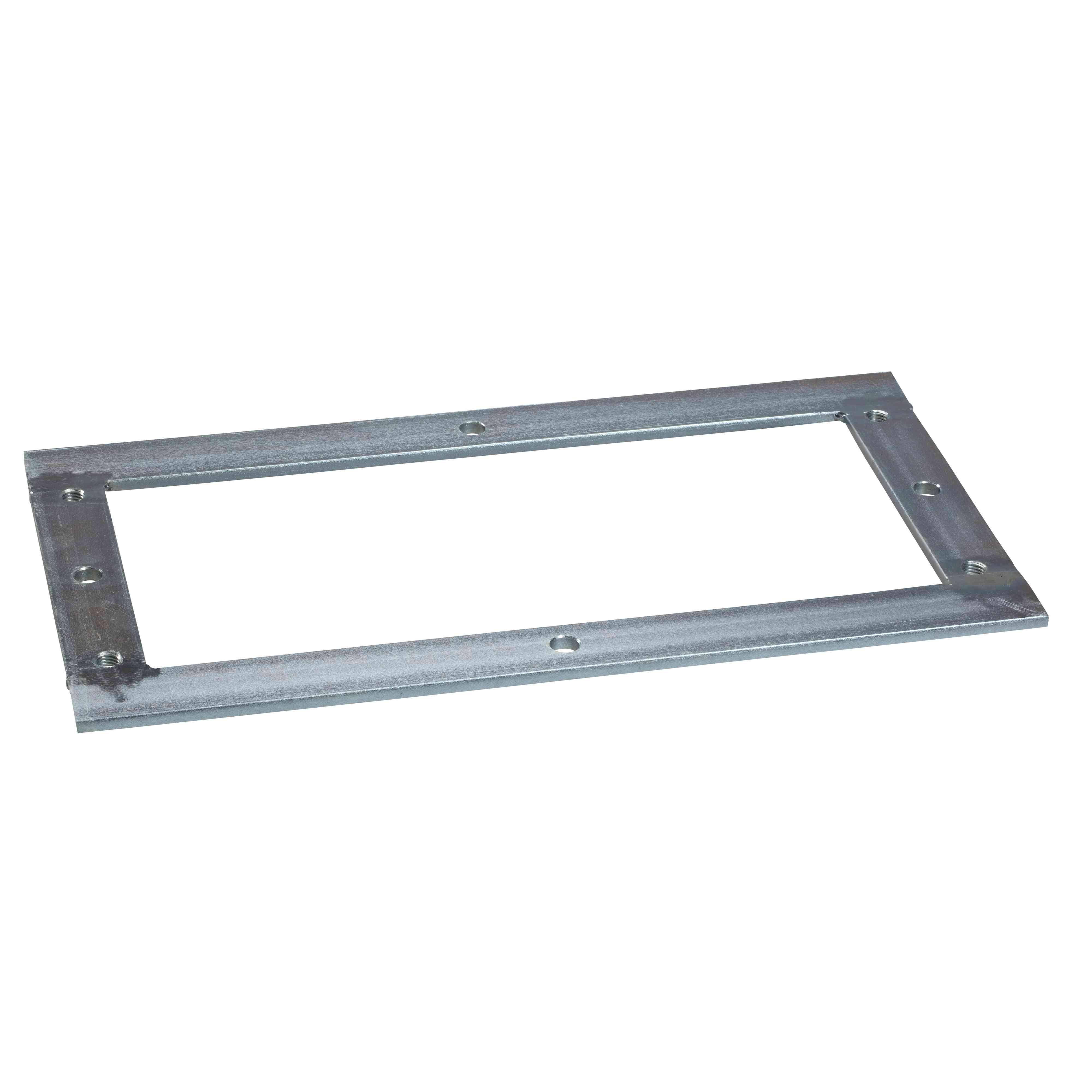 Kovinski okvir za pritrditev na tla za različico PLAZ ali PLAZT Š500xG420 mm