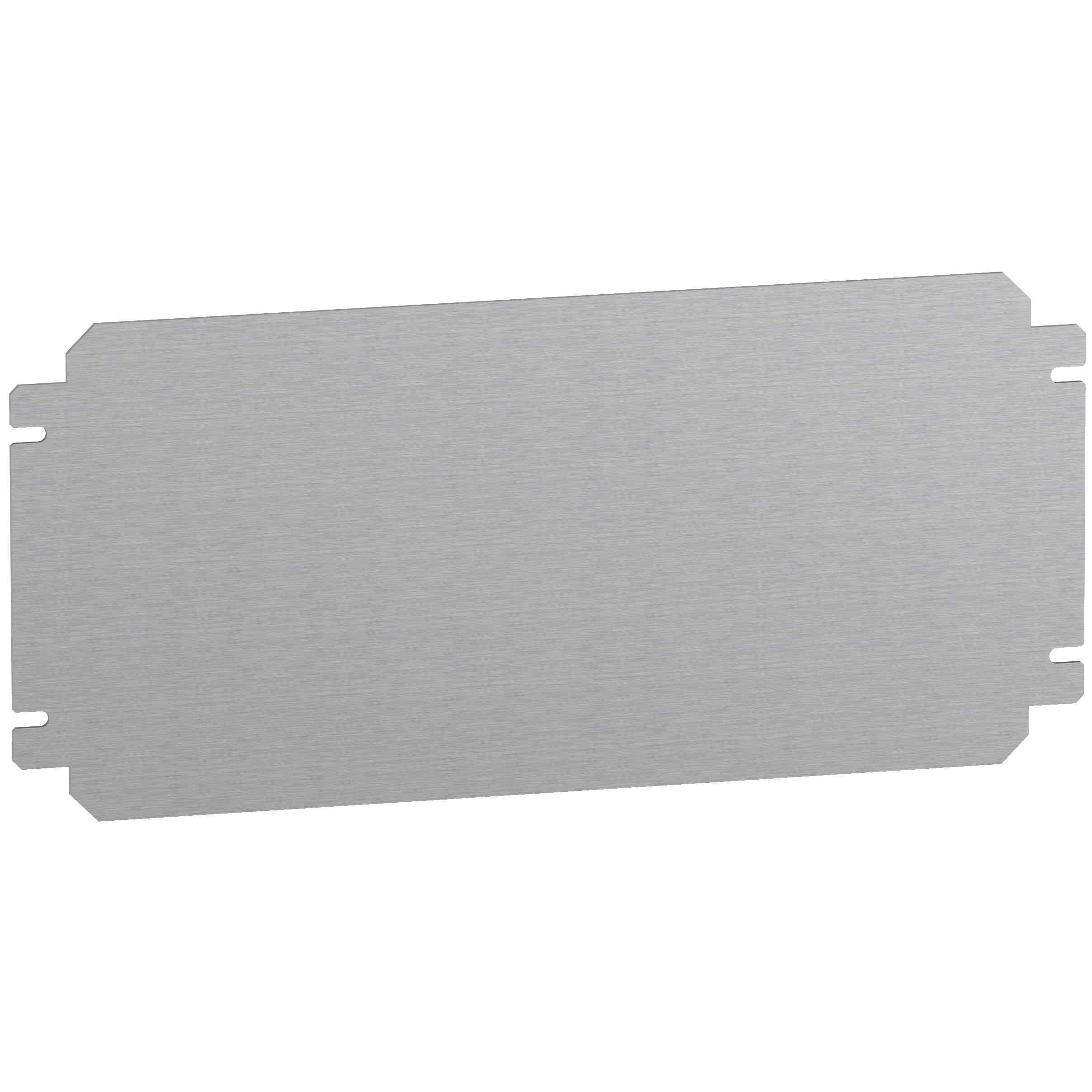 Navadna montažna plošča V 200 x Š 500 mm iz galvanizirane jeklene pločevine