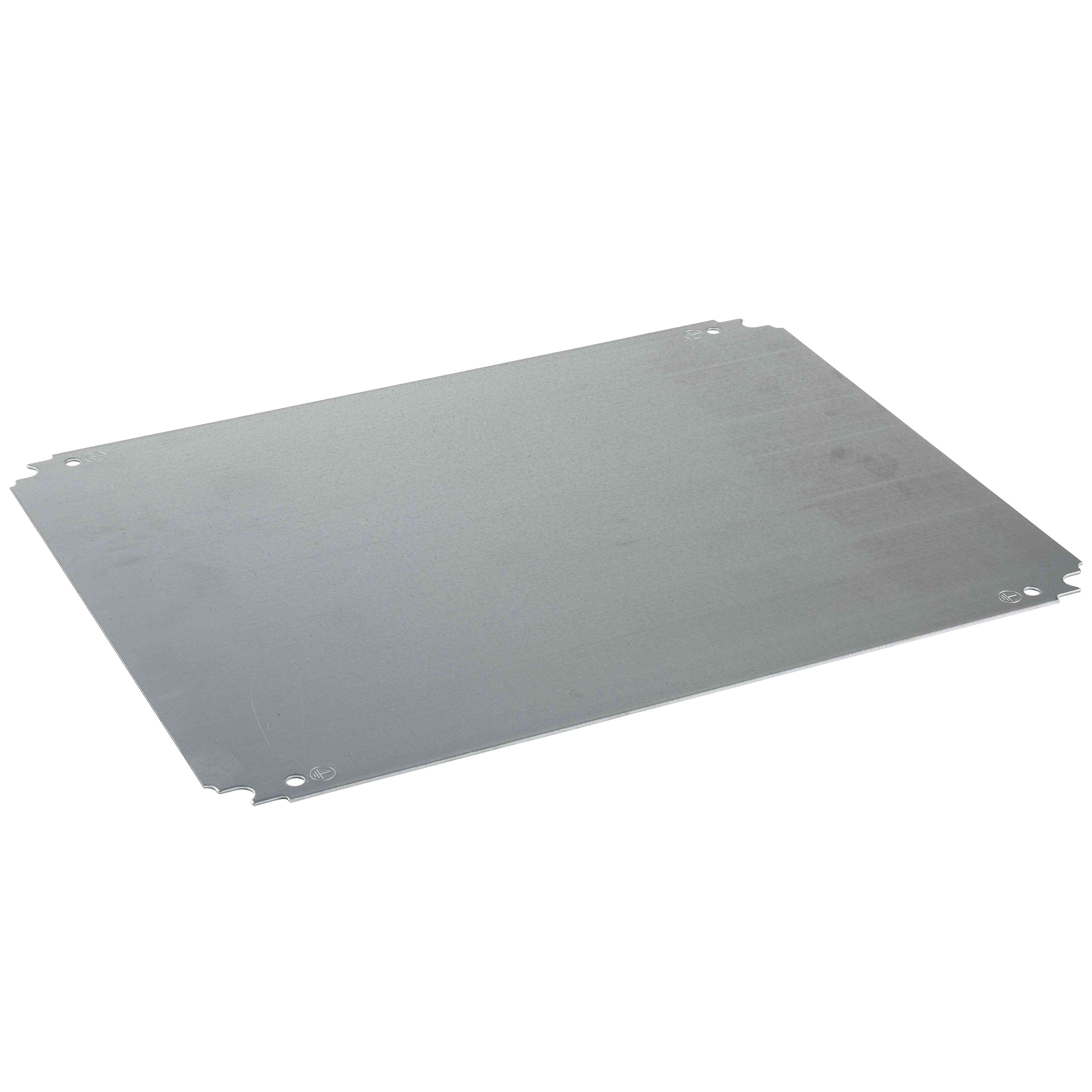 Navadna montažna plošča V 300 x Š 450 mm iz galvanizirane jeklene pločevine