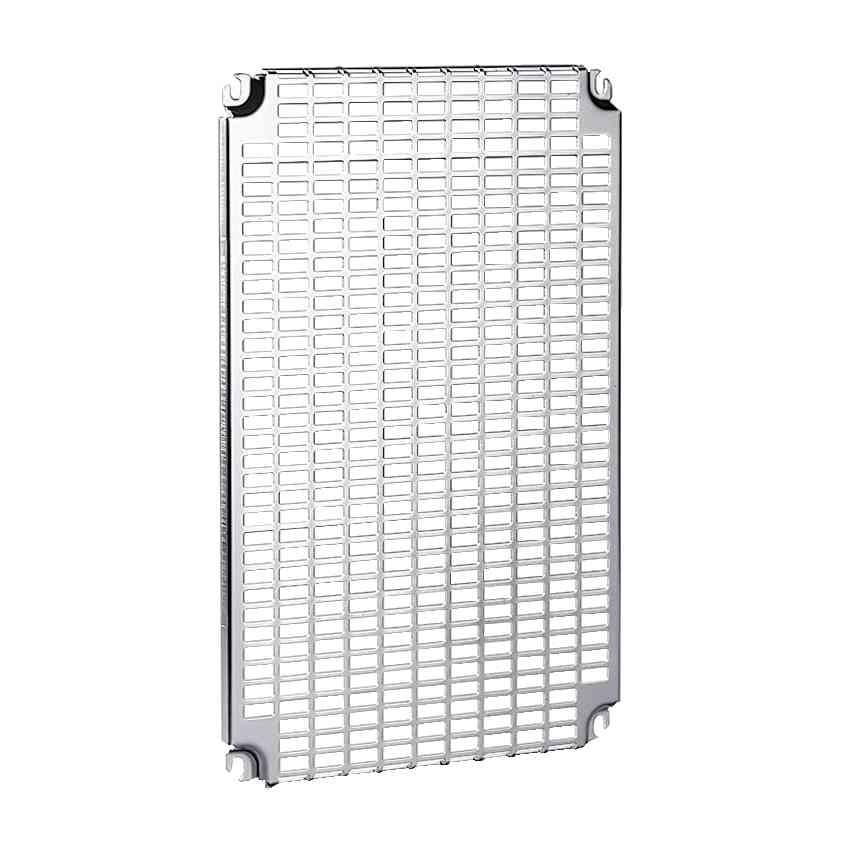 Enobločne perforirane plošče V 500 x Š 400 mm z univerzalnimi odpr. 11 x 26 mm