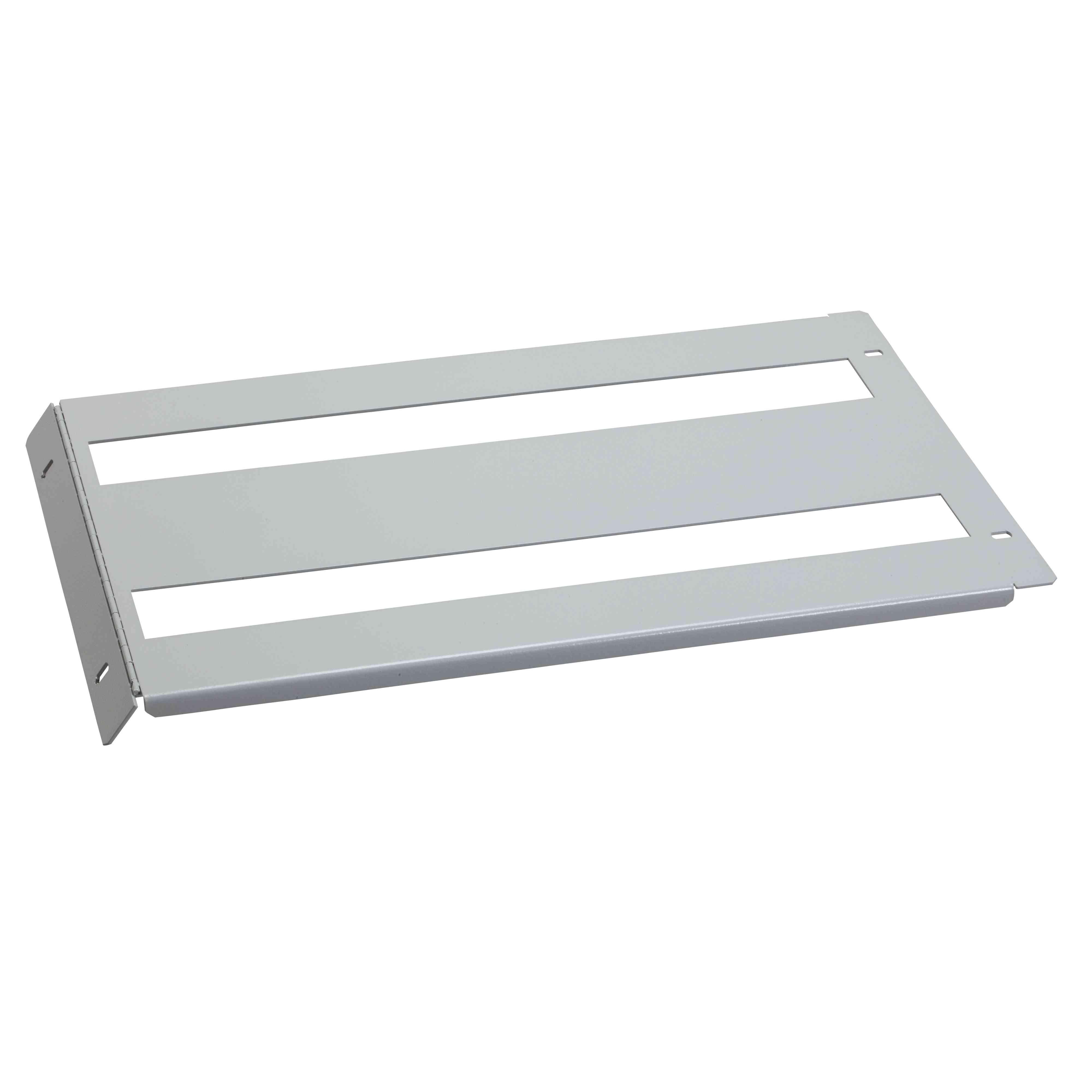 Izrezana pokrivna plošča Spacial SF/SM - 150 x 800 mm - pritrditev s tečaji