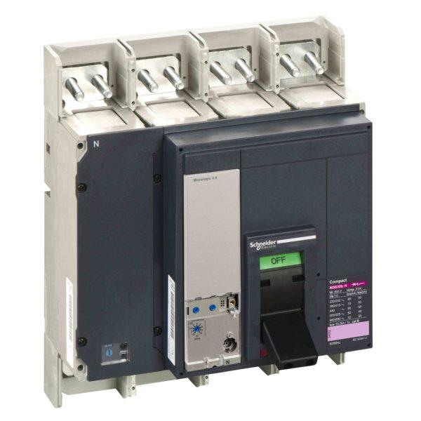 Odklopnik Compact NS630bH - Micrologic 2.0 - 630 A - 4 poli 4t