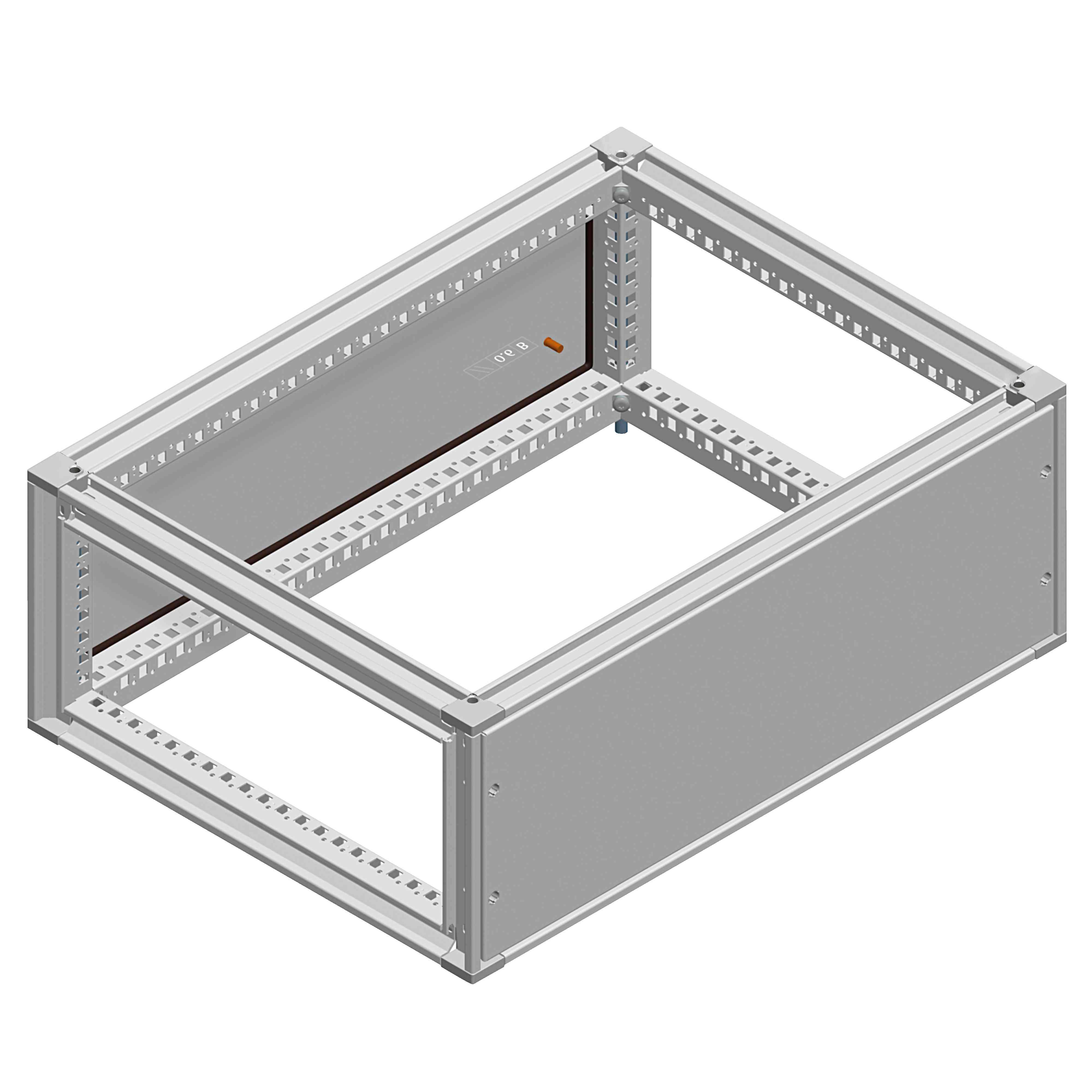 Vrhnja zbiralčna komora Spacial SF - IP55 - 300 x 1200 x 800 mm