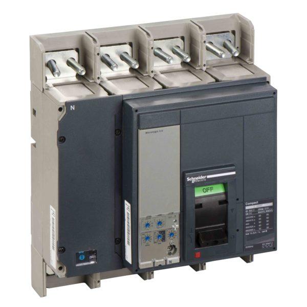 Odklopnik Compact NS800N - Micrologic 5.0 - 800 A - 4 poli 4t