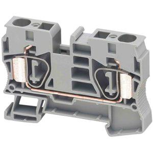 Linergy prehodni priključni blok - 10 mm2 57 A enojna raven vzmet 1 x 1 - moder