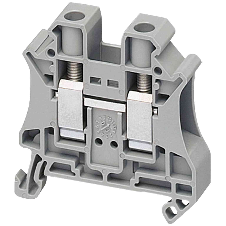 Linergy prehodni priključni blok - 10 mm² 57 A enojna raven vzmet 1 x 1 - siv