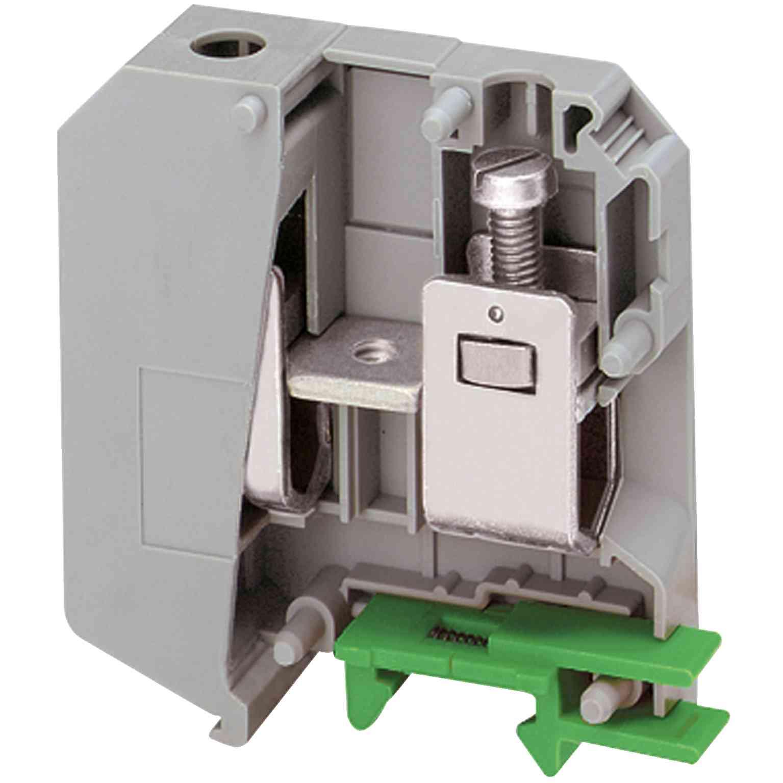 Linergy prehodni priključni blok - 50 mm2 150 A enojna raven vijak 1 x 1 - siv
