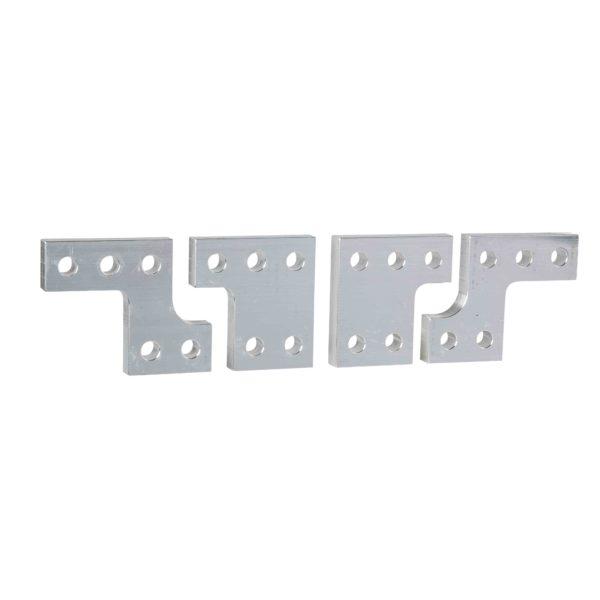 Komplet razdelilnika 95-mm razmika, ploščat priključek - 4 poli - za NT 06 do 16