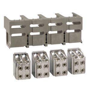 4 prikl. - < 1250A - za 4 x 240 mm² - nezašč. kabli in varovalo 1 prik.