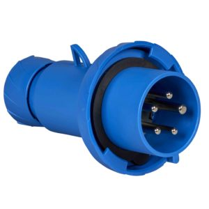 Gnezdni vtič PratiKa - raven - 32 A - 3P + N + E - 200 do 250 V AC - IP67