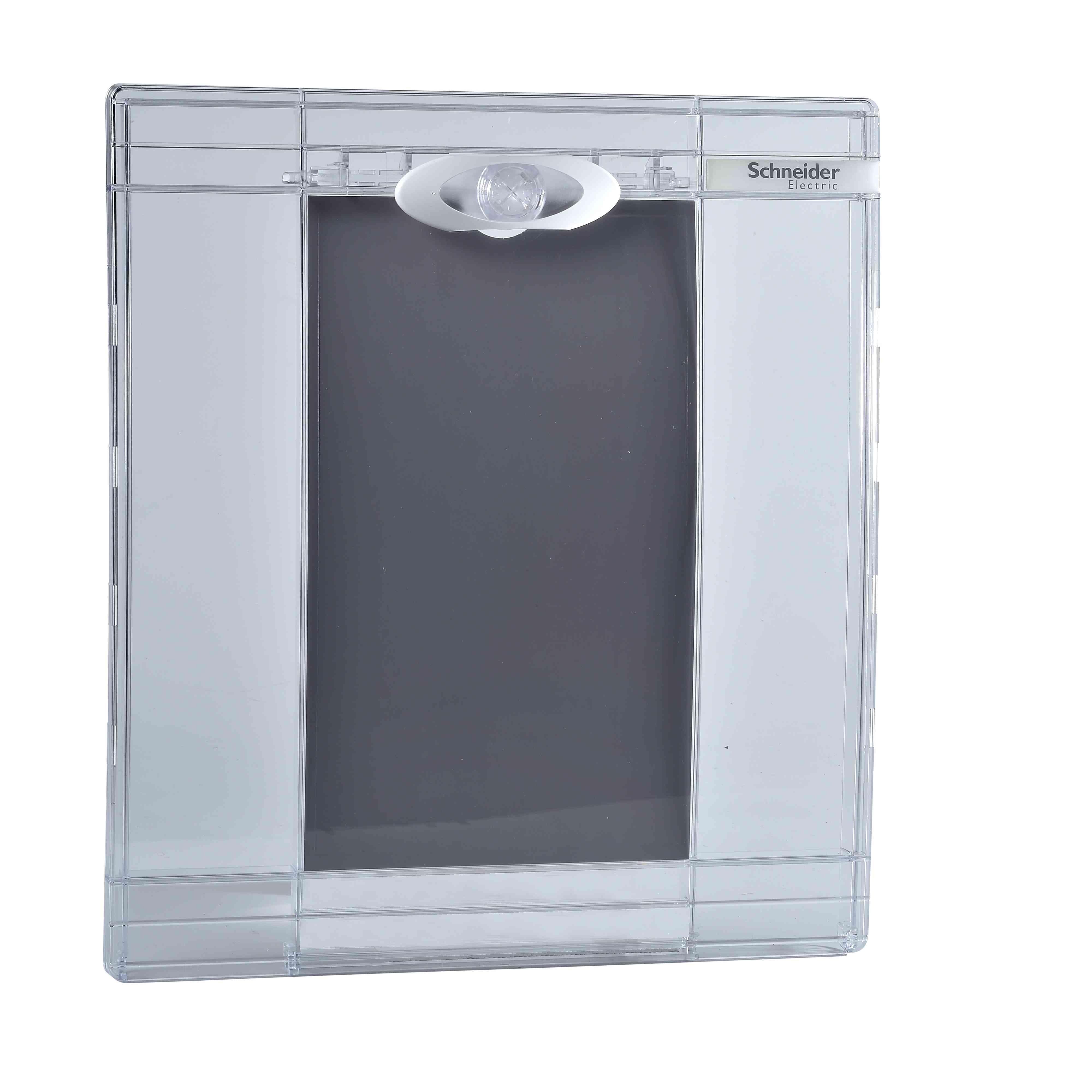 Prosojna vrata Pragma - za omaro - 2 x 13 modulov