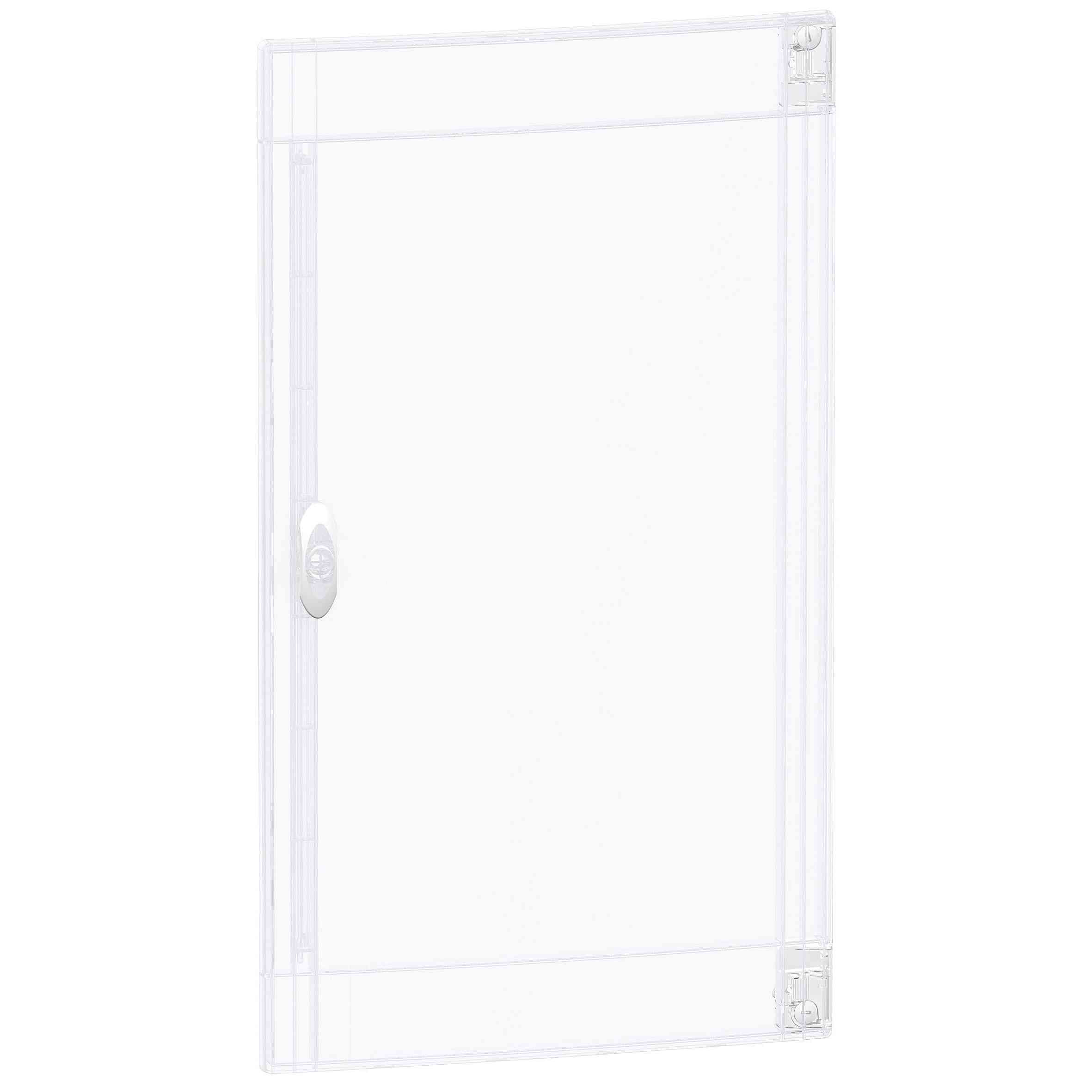 Prosojna vrata Pragma - za omaro - 3 x 18 modulov