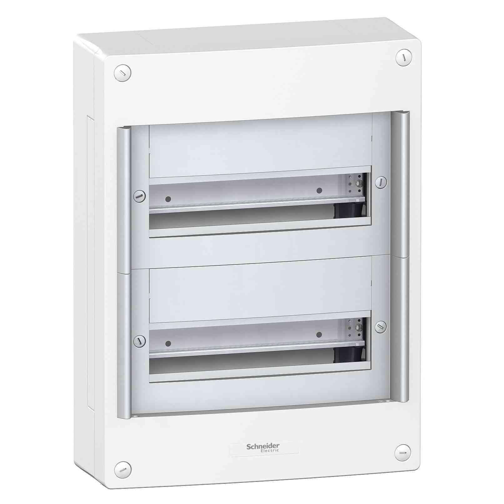 Površinska omara Pragma - IP30 - 2 x 13 modulov - brez vrat
