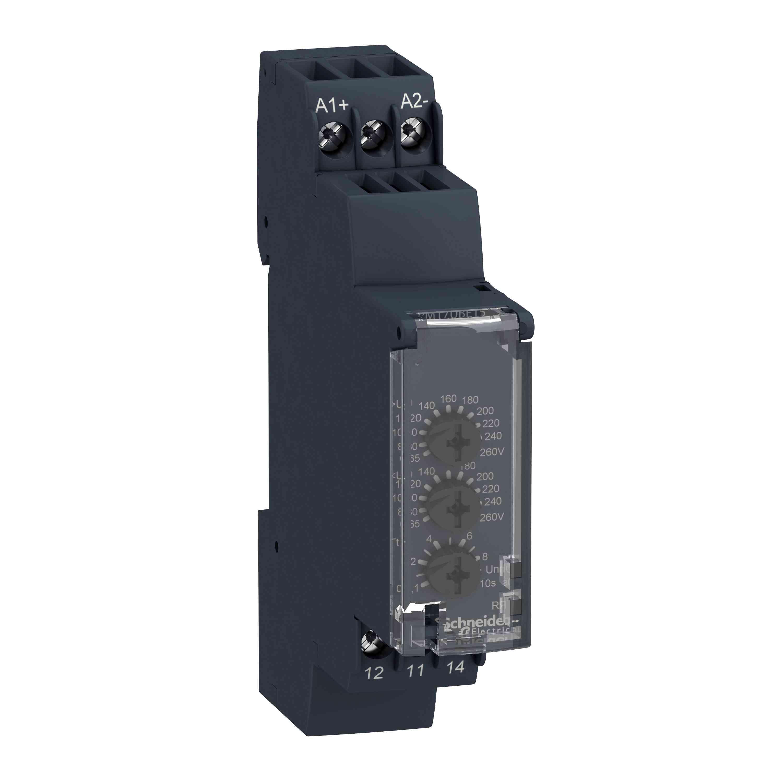 Krmilni rele napetosti RM17-U - obseg 20 do 80 V AC
