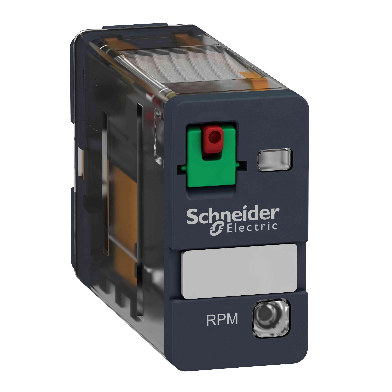 Električni vtični rele - Zelio RPM - 1 C/O - 230 V AC - 15 A - z LED