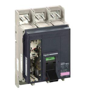 Odklopnik Compact NS3200N 3200 A - 3 poli - fiksen - brez sprožnika
