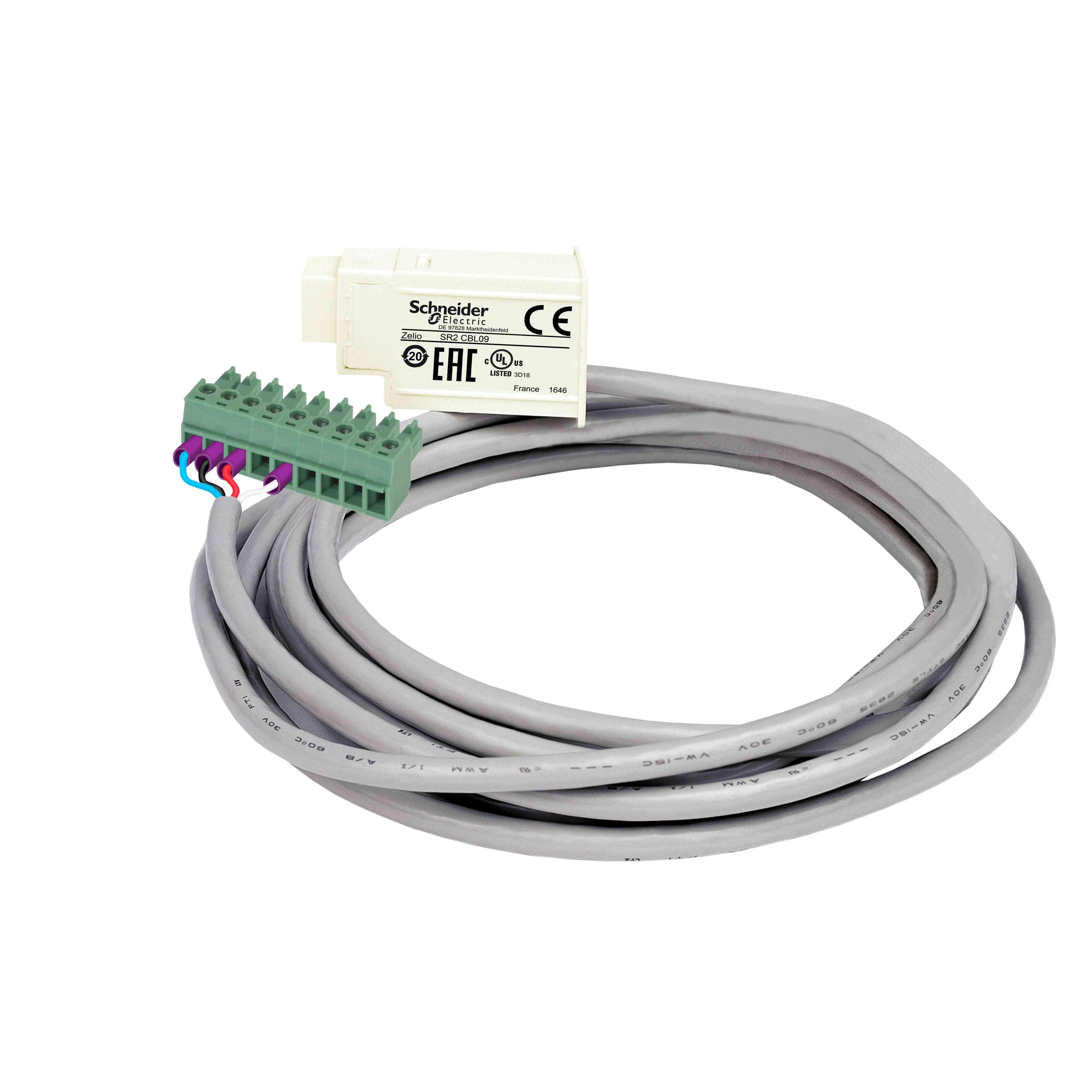 Priključni kabel Magelis za majhno ploščo - za pametni rele Zelio Logic