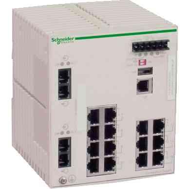 Stikalo za uprav. za Ethernet TCP/IP - ConneXium - 14TX/2FX - več načinov