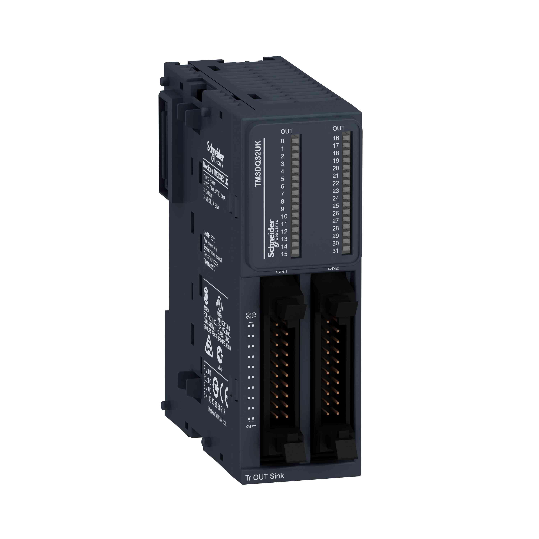 Modul TM3 - 32 izhodnih tranzistorjev NPN HE10