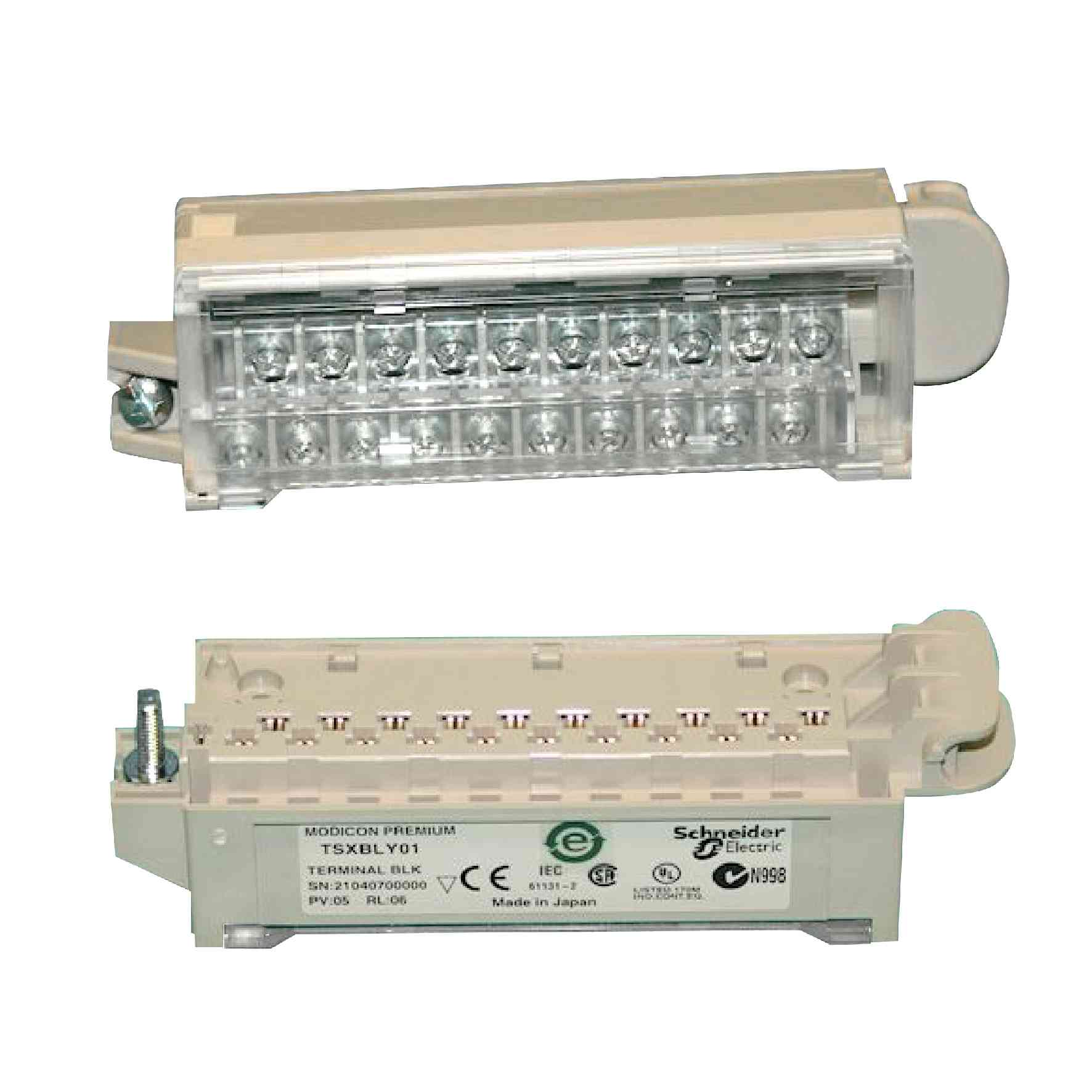 Priključni blok z vijačnimi prik. - za analogni/diskretni I/O modul - 20-pinski